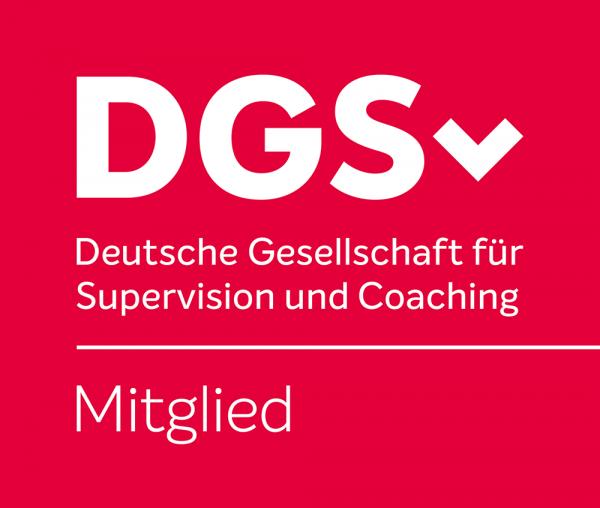 Logo/Wortmarke für Mitglieder der DGSv Deutsche Gesellschaft für Supervision und Coaching